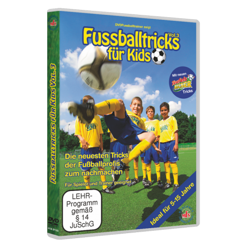 fussballtricks f r kids vol 3 jetzt online bestellen. Black Bedroom Furniture Sets. Home Design Ideas